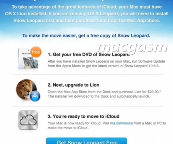 ارائه نسخه رایگان Snow Leopard به کاربران MobileMe
