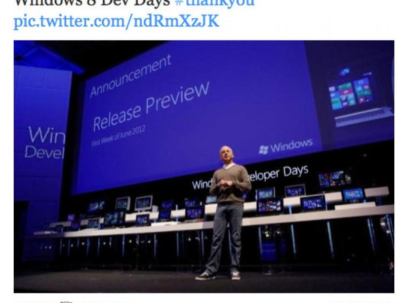"""عرضه نسخه """"Release Preview"""" از ویندوز ۸ در ماه ژوئن"""