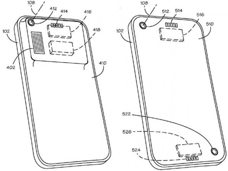 ارائه پتنت لنز و قاب قابل تعویض در آیفون توسط اپل