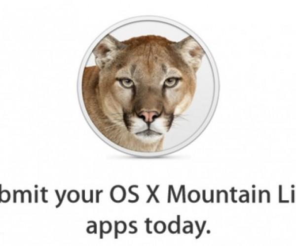 اپل شروع به جمع آوری نرم افزار های OS X Mountain Lion از توسعه دهندگان کرد.