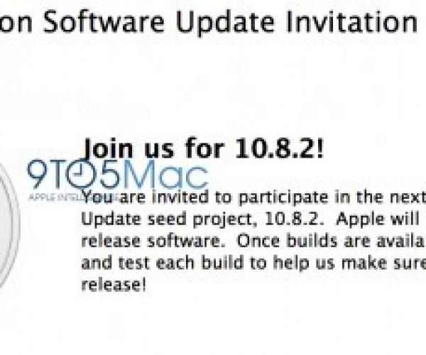 اپل Mountain Lion 10.8.2 را برای برخی از برنامه نویسان عرضه کرد