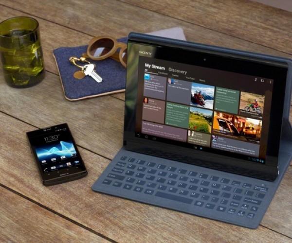 سونی از تبلت Xperia Tablet S خود رو نمایی کرد.