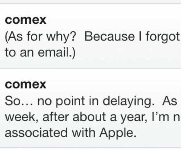 هکر معروف Comex دیگر برای اپل کار نمی کند