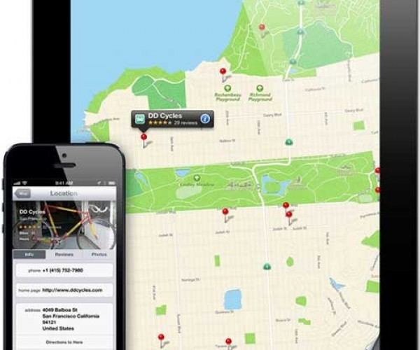 همکاری اپل با Foursquare جهت بهبود iOS Maps