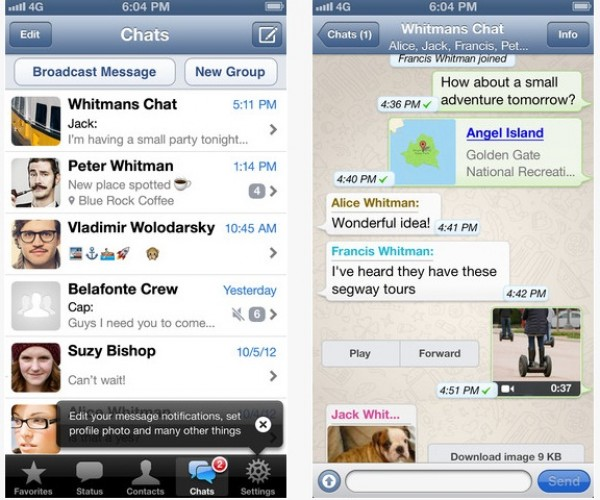 فیس بوک به دنبال خرید WhatsApp!