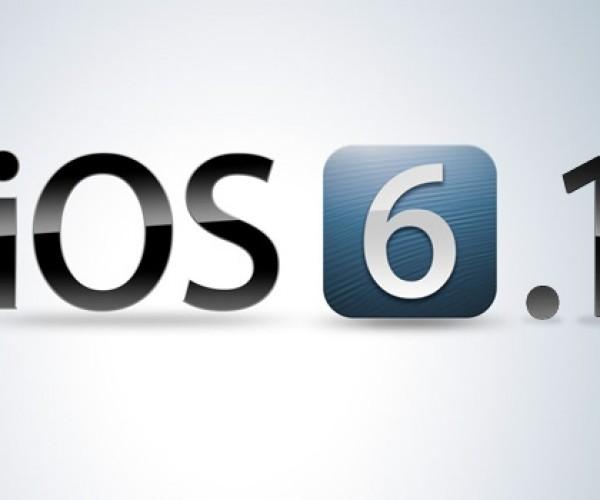 iOS 6.1 بتا 5 عرضه شد