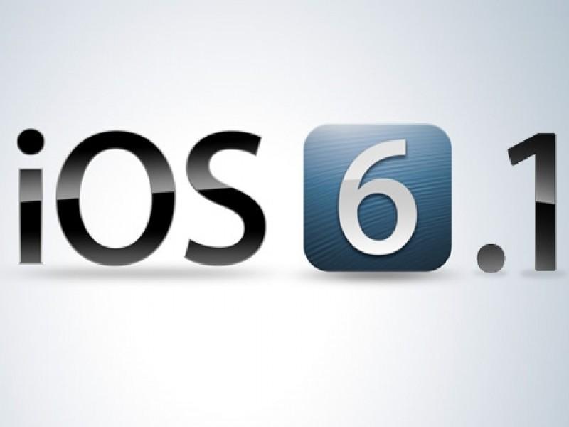 iOS 6.1 عرضه شد