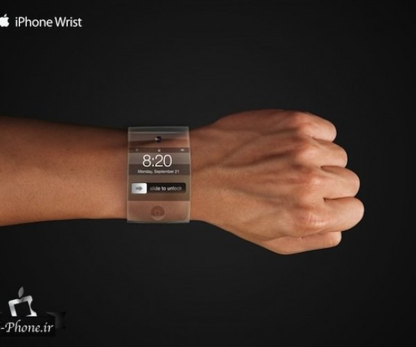 اپل در حال کار بر روی ساعت مچی هوشمند و منحنی است