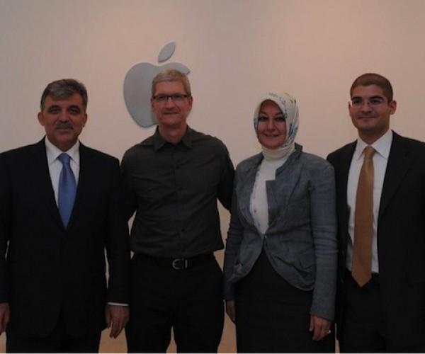 دیدار رئیس جمهور ترکیه با مدیر بخش آموزش اپل