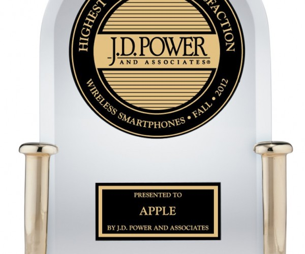 اپل برای نهمین بار جایزه رضایت مشتری J.D. Power را دریافت کرد