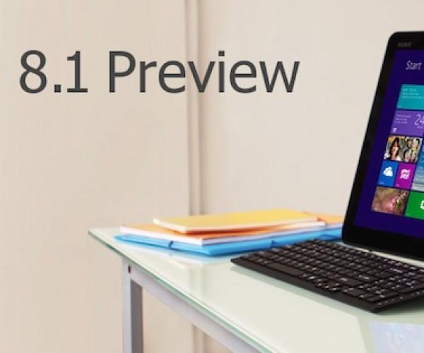 مایکروسافت Windows 8.1 Preview را منتشر کرد