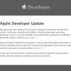 بازگشایی پرتال Developer اپل بعد از ۸ روز