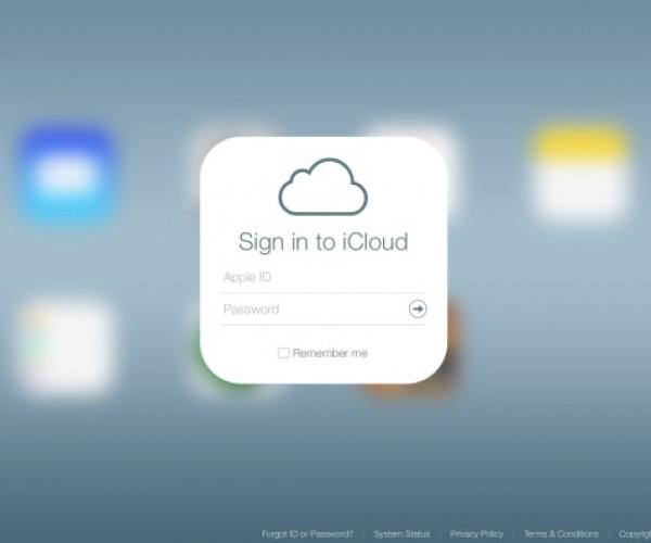 بازطراحی بخش آزمایشی سایت iCloud