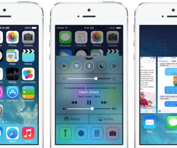 اپل در حال آزمایش ios 7 تحت نسخه های 7.0.1 , 7.0.2 و 7.1 میباشد
