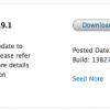 OS X Mavericks 10.9.1 برای برنامه نویسان عرضه شد