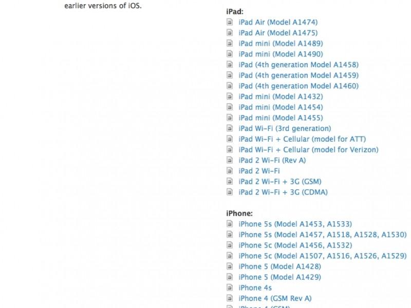 اولین نسخه آزمایشی iOS 7.1 عرضه شد [آپدیت شد]