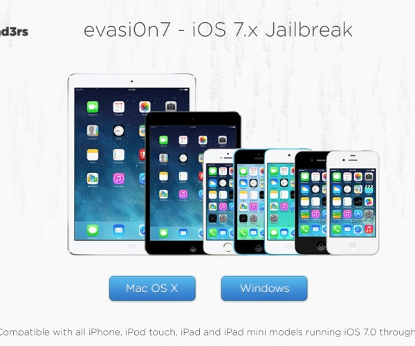 جیلبریک آنتترد iOS 7.x عرضه شد