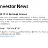 گزارش مالی سه ماهه اخیر اپل در ۲۷ ژانویه