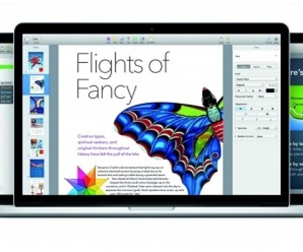 آپدیت پکیج iWork برای iOS و Mac