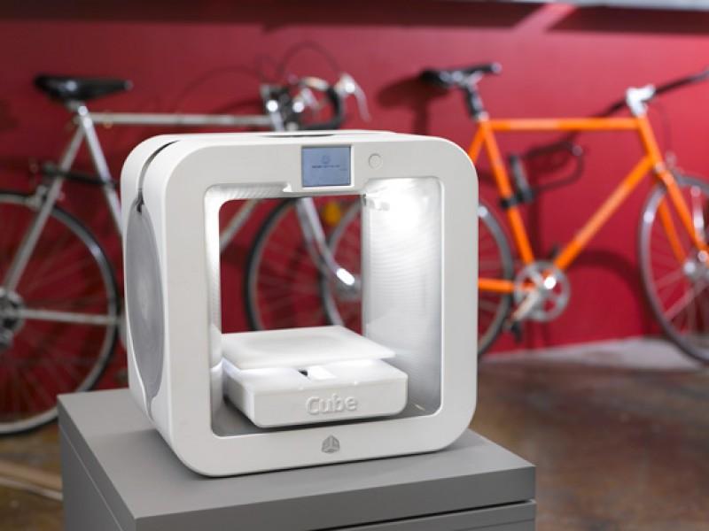 پرینتر سه بعدی جدید شرکت Cube عرضه شد