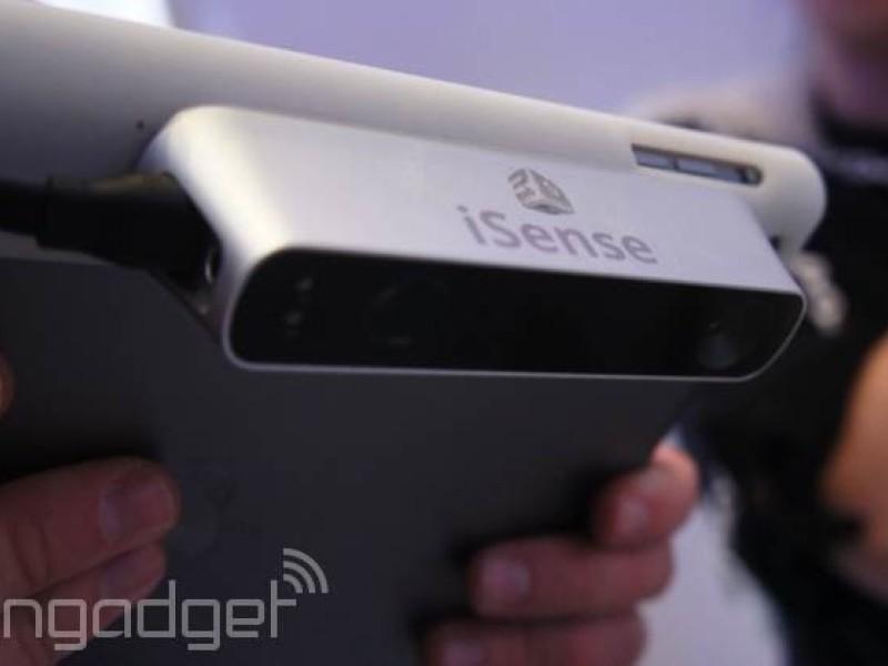 رونمایی از اسکنر ۳ بعدی iSense مخصوص آیپد