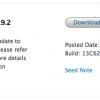 عرضه هفتمین نسخه آزمایشی OS X Mavericks 10.9.2