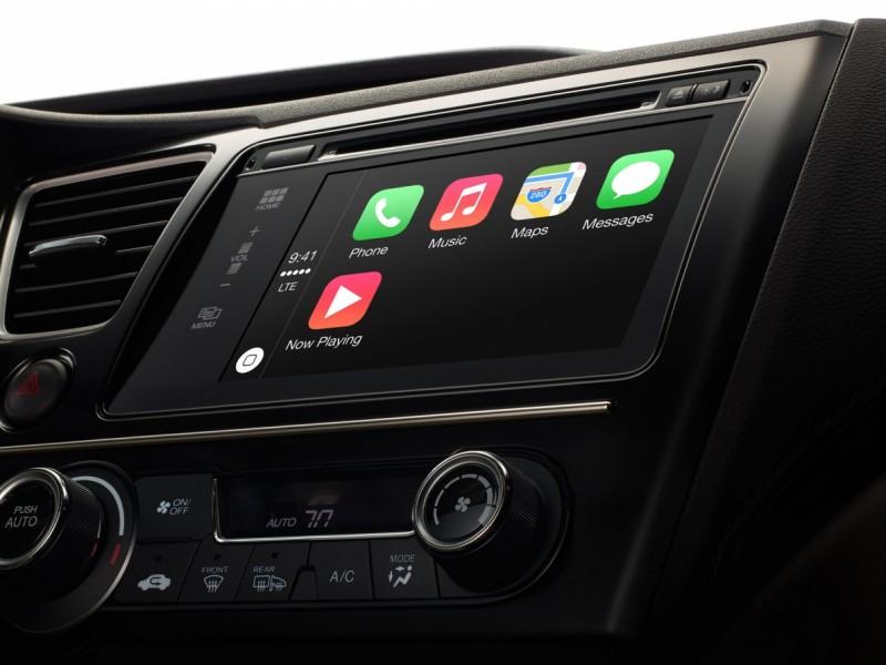 CarPlay سیستم ادغام iOS و خودرو ها به صورت رسمی معرفی شد