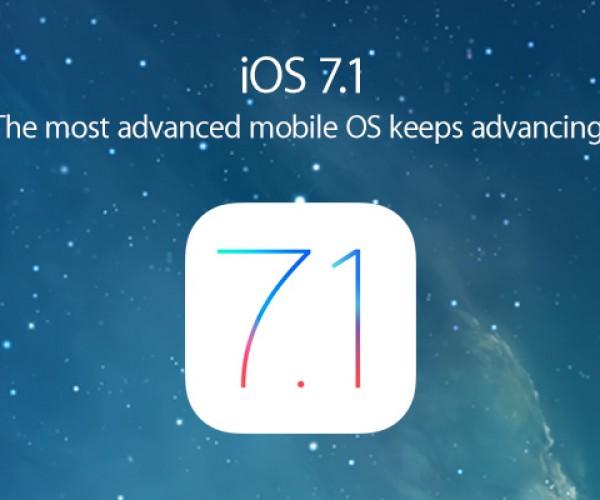 نسخه نهایی iOS 7.1 عرضه شد
