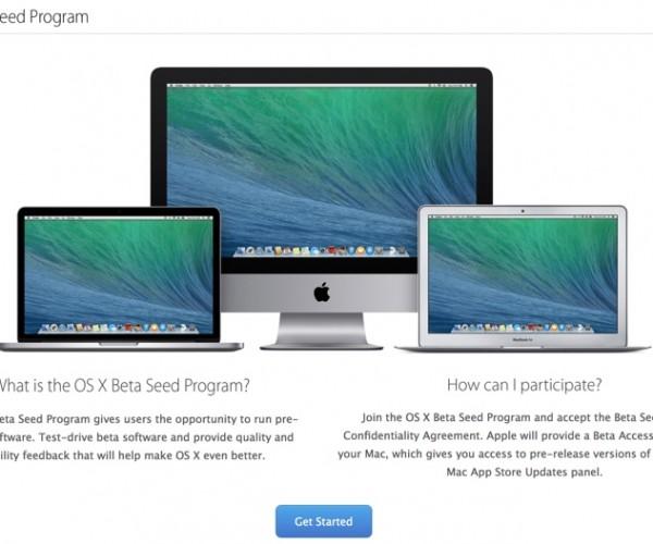 بازگشایی بخش نسخه های آزمایشی OS X برای تمام کاربران مک