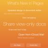 بازطراحی برنامه های iWork for iCloud
