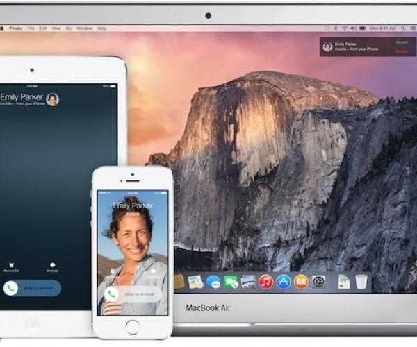 با Continuity دستگاههای اپل باهم صمیمی تر میشوند