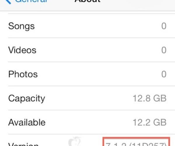 iOS 7.1.2 به زودی عرضه خواهد شد