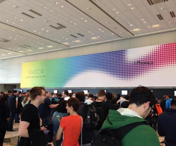 تصاویر تکمیلی از محل برگزاری کنفرانس WWDC 2014