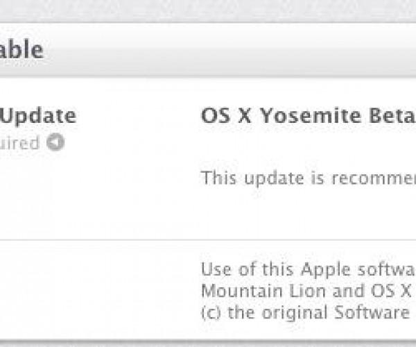 دومین نسخه بتای عمومی OS X Yosemite عرضه شد