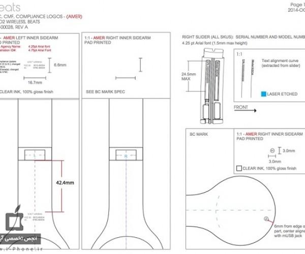 جزییات اسناد fcc منتشر شده نشان از ساخت هدفون بدون سیم بیتز توسط اپل می دهند