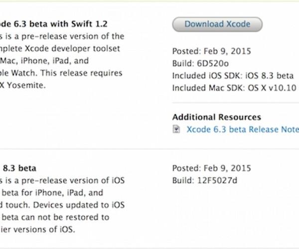 اولین نسخه آزمایشی iOS 8.3 منتشر شد