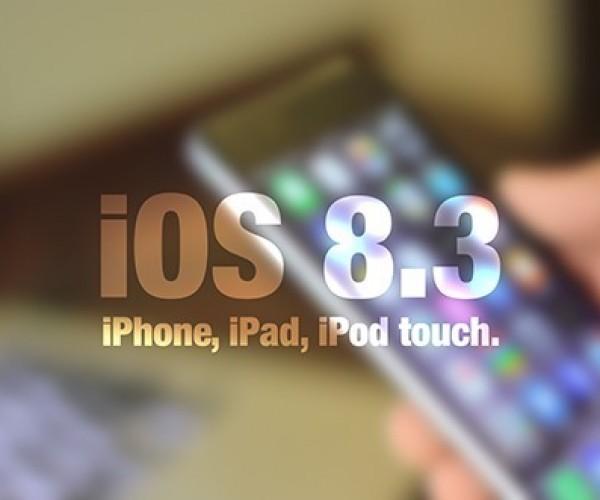 نسخه نهایی iOS 8.3 عرضه شد