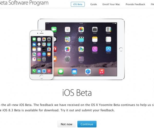 راهاندازی بخش بتا عمومی iOS برای تمام کاربران