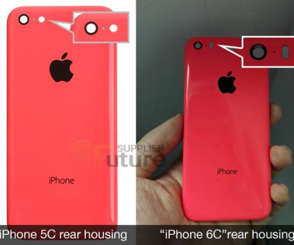 تصاویری از بدنه احتمالی iPhone 6C لو رفت