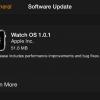 Watch OS 1.0.1 عرضه شد