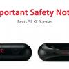 اپل اعلامیه ای برای بازپس گرفتن Beats Pill XL ناشی از باطری های خطرناکش را منتشر کرد