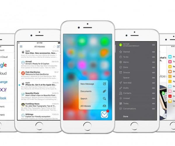 کلاینت معروف ایمیل «Airmail» برای iOS عرضه شد