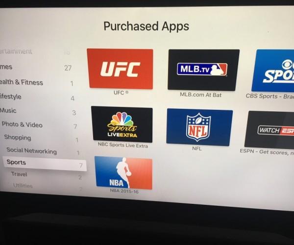 دستهبندیهای جدید به اپ استور tvOS اضافه شد