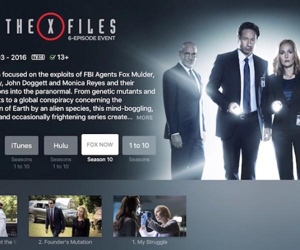 گسترش قابلیت یونیورسال سرچ Apple TV 4 به شبکه های FOX NOW ،FXNOW و NAT GEO