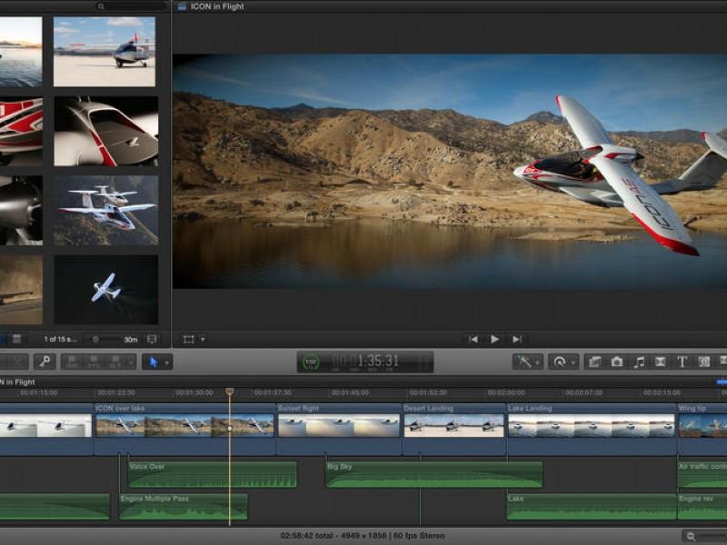 اپلیکیشنهای Motion ،Final Cut Pro X و Compressor برای مک آپدیت شدند