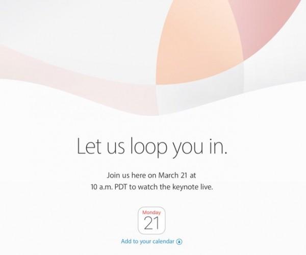 کنفرانس ۲ فروردین به صورت زنده از سایت اپل پخش میشود