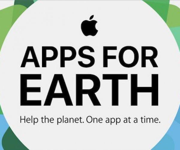 کمپین جدید اپل برای حمایت از روز جهانی زمین در اپ استور