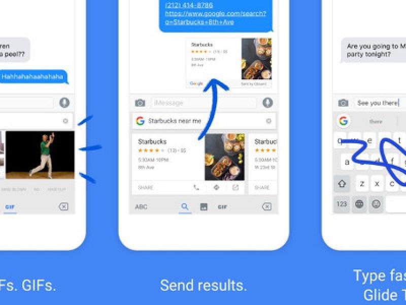 انتشار کیبرد Gboard گوگل برای iOS