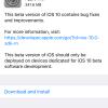سومین نسخه آزمایشی از iOS 10 عرضه شد