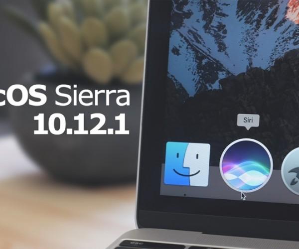 نسخه نهایی macOS Sierra 10.12.1 عرضه شد